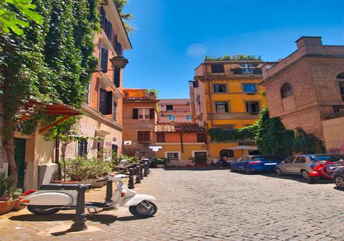 First solo Adventure: Roma, Italia