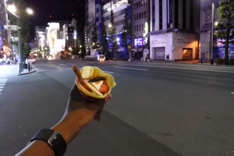 Crepe, Tokyo